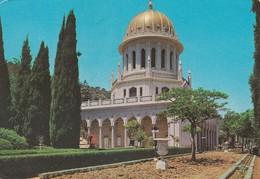 ISRAEL-----HAIFA---MT. CARMEL---THE BAHA'I SHRINE---voir 2 Scans - Israel