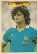 Thematiques Football Coupe Du Monde 1982 Equipe De France Didier Six Né à Lille 59 Nord En 1955 - Trading Cards