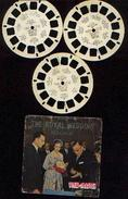 "VIEW-MASTER ""The Royal Wedding - Belgium"" : 3 Disques C 3541, 3542 & 3543 - Photos Stéréoscopiques"