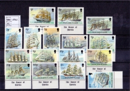 Falkland Islands - Schiffe / Ships 1989 (**/mnh) - Falkland Islands
