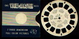 """:  VIEW-MASTER """"Cinderella"""" : 1 Disque FT 5 - Stereo-Photographie"""