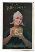 CPA  Publicité :   Cacao BENSDORP    VOIR  DESCRIPTIF  §§§ - Pubblicitari