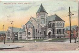 Etats Unis -  Mass - Lawrence - Place Library  : Achat Immédiat - Lawrence