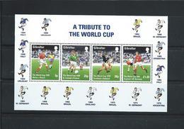 OA 8049 / GIBRALTAR 1998 Yvert Bloc 29 ** - Prélude De La Coupe Du Monde De Football - Gibilterra
