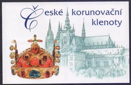 CZECH REPUBLIC CESKA 2017 - Crown Jewels, BOOKLET, MNH (Specimen) - Blocks & Sheetlets