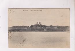 CPA DPT 06 ANTIBES, PORT ET VUE SUR LA VILLE En 1924! - Antibes
