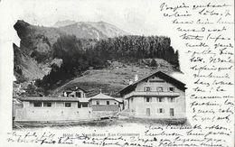 Hôtel De Nant-Borant (les Contamines, Haute-Savoie) - Tampon Club Alpin Français Et L. Richard - Hotels & Restaurants