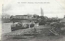 Viet-Nam - Tonkin - Haïphong - Song-Tom-Bao (côté Rade) - Collection Dieulefils, Carte Précurseur Non Circulée - Viêt-Nam