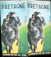 29 FINISTERE 35 ILE ET VILLAINE  56 MORBIHAN BRETAGNE GUIDE DE TOURISME VERS 1930 RESCHOFSKY ILLUSTRATEUR - Dépliants Touristiques