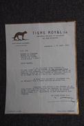 Lettre Ancienne - SUISSE - GENEVE, TIGRE ROYAL S.A - Switzerland