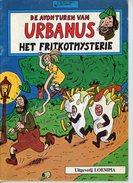 Urbanus - Het Fritkotmysterie (2de Druk)  1983 - Urbanus
