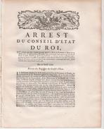 Cartes à Jouer  1770 - Décrets & Lois