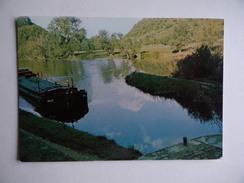 25 DOUBS Péniche NELLY Devant Le Foyer De L'Ecluse Batellerie Marinier Transport-Fluvial Bief Canal Navigation - Other Municipalities