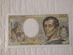 200 Francs Montesquieu 1981/1994 U.166 N°086093. - 1962-1997 ''Francs''