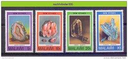 Mif071 MINERALEN GEMSTONES MINERALIEN UND GESTEINE MINÉRAUX MALAWI 1980 ONG/MH - Mineralen