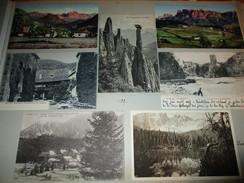 7x Ansichtskarte Runkelstein , Karersee , Klobenstein , Ritten , Bozen Albumseite ,ca. 1909 , Album , Postkarte , AK !!! - Andere Städte