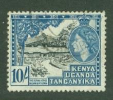 K.U.T.: 1954/59   QE II - Pictorial    SG179    10/-      Used - Kenya, Uganda & Tanganyika