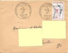 ENVELOPPE PREMIER JOUR Du CHAMPIONNAT D' EUROPE ATHLETISME JUNIORS Le 11 SEPTEMBRE 1970 à 75000 PARIS - Cartas