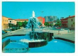 14474  CPM APRILIA  : Fontana Di Piazza Roma  , Carte Photo  1980  ; - Aprilia