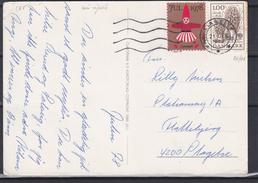 Danemark - Carte Postale De 1978 - Oblit Slagelse - Avec Vignette Julien - Champignons - Dänemark