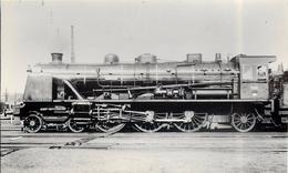 LOCOMOTIVE  N° 231-616 Des Chemins De Fer De L'état  (ancien Retirage Photo,format Carte Ancienne) - Trains