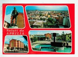 14477  CPM Saluti Da APRILIA  :  , Carte Photo Multivues  ; ACHAT DIRECT  !! - Aprilia