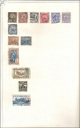 13 TIMBRES TUNISIE