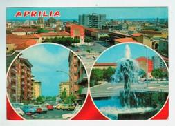 14479 CPM   APRILIA  : Piazza Roma  , Carte Photo Multivues   1981 - Aprilia