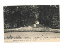 Chateau De Sceaux - Bassin Du Pavillon Gothique - Statue De La Servitude - Sceaux