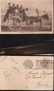 10440) CARRETTO SICILIANO CARICO DI BAMBINI VIAGGIATA 1928 INSOLITA - Unclassified