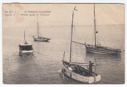 Saint-Trojan-les-Bains, Île D'Oléron Old Postcard Travelled 1922 To Paris B170203 - Ile D'Oléron