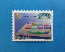 1998 ITALIA FRANCOBOLLO NUOVO STAMP NEW MNH**  - FIERA DI VERONA - - 1991-00: Mint/hinged