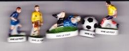 6 Fèves 2 Scan Vive Le Foot Arbitre De Touche Ballon Joueurs N 1, 3 , 5 , 6 - Sports