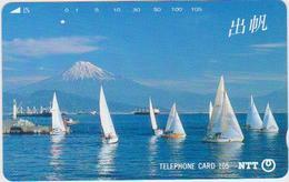 JAPAN - BALKEN CARDS - 291-028 - SAILING SHIPS - FUJI - Japan