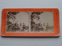 The FLIGHT Into EGYPT ( N° 3 ) FRENCH STEREO Publisher Lawrence Kansas ( Voir Photo Pour Detail ) !! - Stereoscopic