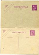 2 CP  Neuve Entier PAIX 40 C Date 339 Et 526 - Marcophilie (Lettres)