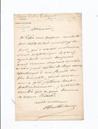 PAUL BANON BARON DESBASSAYNS DE RICHEMONT (SURESNES 1809 PARIS 1875) HOMME POLITIQUE ORIGINAIRE ILE REUNION L A S - Autogramme & Autographen