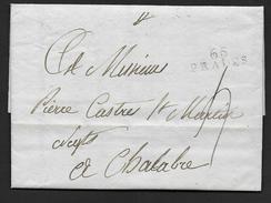 Pyrénées Orientales -   65  / PRADES   Sur Lettre De 1811 - 1801-1848: Precursores XIX