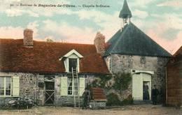 CPA - Environs De BAGNOLES-de-l'ORNE (61) - Aspect De La Chapelle St-Ortaire En 1911 - Bagnoles De L'Orne