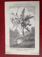 L'Archange St Michel Couronnement - Images Religieuses