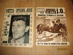 """Jeux Olympiques De 1964 - Numéro Spécial - """"Miroir Sprint """" Et """"Miroir Des Sports """" Jazy Et Jonquières D'Oriola (fr43) - Sport"""