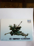JAPON JAPAN MITRAILLEUSE DEFENSE AERIENNE SUPERBE - Armée