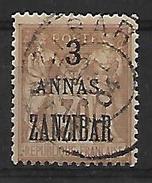 Zanzibar. 1896 N°25 Oblitéré - Sansibar (1894-1904)