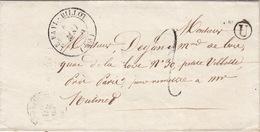 LETTRE.   6 MAI 50 .    HAUTE MARNE   FAYL-BILLOT.   BOITE RURALE  =   U    /  66 - Postmark Collection (Covers)
