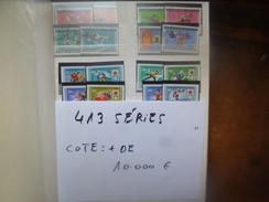10.000 EURO DE COTE !!! DEPART 1 CENTIME LA SERIE !!! 413 SERIES SUPERBES OLYMPIADES ANNEES 60-70s. (1574) 2 KILOS 700 !