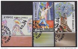 2016 Zypern Gr.  Mi. 1350-2 Used  Prinzipien Und Werte Der Europäischen Union: Schülerzeichnungen.