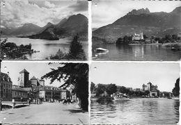 Lot De 9 Mini Cartes (6 X 9 Cm) - Annecy, Son Lac, Châteaux, Port, Talloires... - Cartes Postales