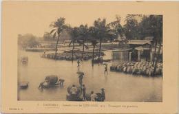 CPA COTONOU DAHOMEY Afrique Noire Colonies Françaises Non Circulé Inondations - Dahomey