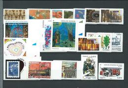 FRANCE - ANNEE 2011 - Tous Les Autoadhésifs émis Par Feuille Soit 40 Timbres Entre Les Numéros 510 Et 635 + Tbr Argent. - Adhesive Stamps