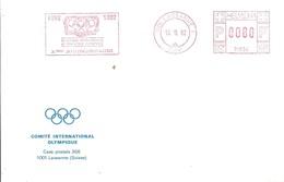 C.I.O SUIZA 1992 - Juegos Olímpicos
